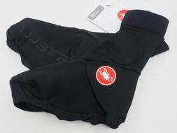 New! Castelli Men's Corsa Cycling Shoe Cover Size Large Blac