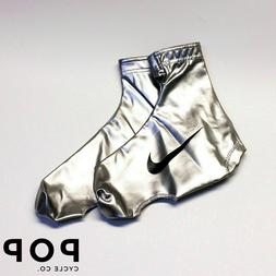 Nike Cycling Silver Aero Shoe Covers Overshoes