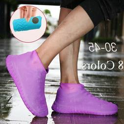 Non-slip Rainproof Latex Shoe Covers Rain Boots Footwear cov