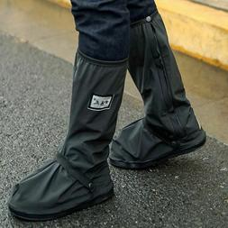 Outdoor Waterproof Prevent Slippery Shoes Covers Reusable Ra