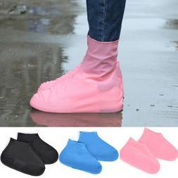 Reusable Waterproof Non-Slip Silicone Rain Shoe Covers Elast