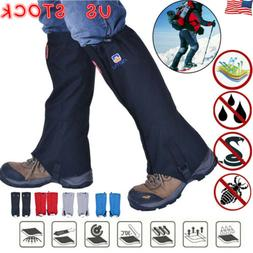 Pair Waterproof Walking Gators Boot Hiking Climbing Leggings