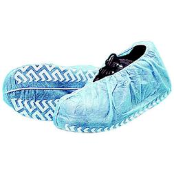 proworks polypropylene shoe covers 25 pairs size