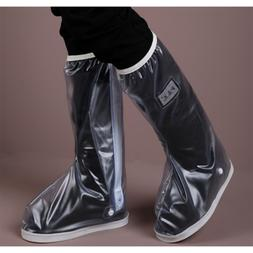 PVC Waterproof Disposable Shoe Covers Overshoes Boot Protect