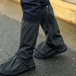 Rain Shoe Cover Waterproof Rain Boot High-Top Protective Ove
