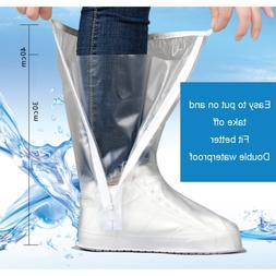 Rain Shoes Covers Cycling Travel Anti-slip Waterproof Scoote