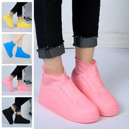 Rain Waterproof Shoe Covers Boots Protective Recyclable Sili