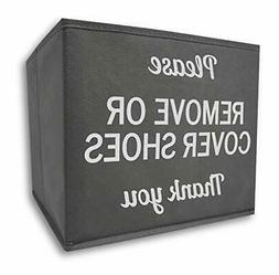 RE Goods Shoe Cover Box | Disposable Shoe Bootie Holder For