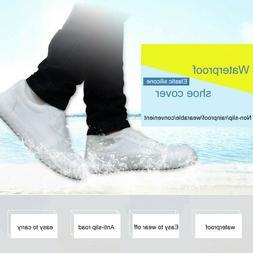 Recyclable Silicone Overshoes Rain Waterproof Shoe Covers Bo