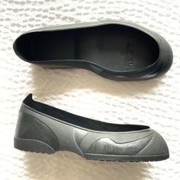 Red Wing Black Rubber Shoe Covers Protectors Over Shoe Flats