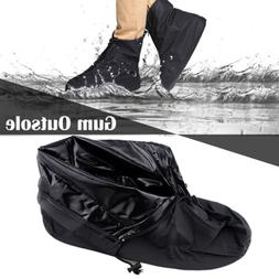 Reusable Rain Shoe Covers Waterproof Overshoes Boots Protect