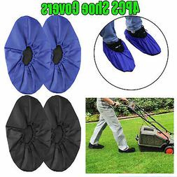 Reusable Rain Snow Shoe Covers Waterproof Overshoes Anti-sli