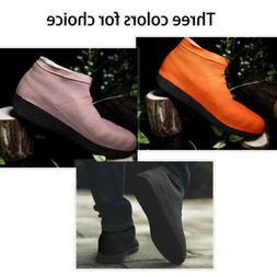Reusable Rain Snow Shoe Covers Waterproof Overshoes Boot Gea