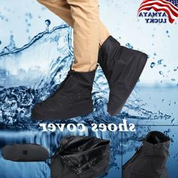 Reusable Rain snow Shoe Covers Waterproof Shoes Overshoes Zi