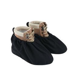 Reusable Shoe Covers Black For Men Women Thick Waterproof El