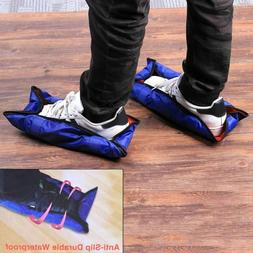 reusable shoes covers anti slip waterproof rain