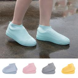 Reusable Silicone Boot And Shoe Covers Rain Socks Waterproof