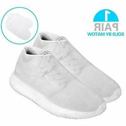 Matow Reusable Silicone Boot And Shoe Covers, Waterproof Rai