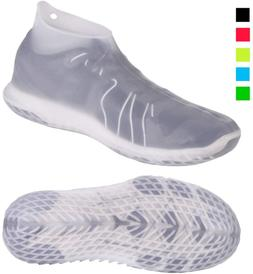 Reusable Silicone Waterproof Shoe Covers No-Slip Silicone Ru