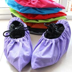 Reusable Thicken Non-woven Shoe Cover Anti-static Non-slip W