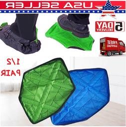 Reusable Washable Shoe Cover Boot Covers For  Contractors an