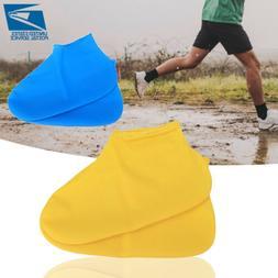reusable waterproof non slip silicone rain shoe