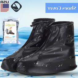 Reusable Waterproof Shoe Covers Non-Slip Rain Overshoe Shoe