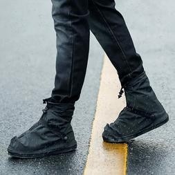 Reusable Waterproof Shoe Covers Rain Boots Anti-slip Shoes O