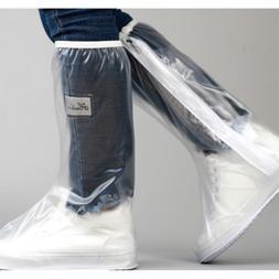 S-3XL PVC Waterproof Disposable Shoe Covers Overshoes Antifo