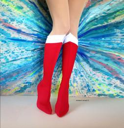 Sailor Moon bootlets shoe covers. Handmade in USA. boot tops