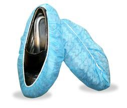 Cordova SC40 Polypropylene Blue Shoe Covers, Non-Skid Latex