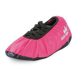 Brunswick Shield Pink Bowling Shoe Covers Size Medium