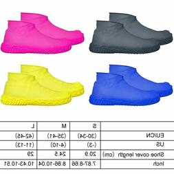 Shoe Cover For Hiking Home Accessory 1pair Silicone Waterpro