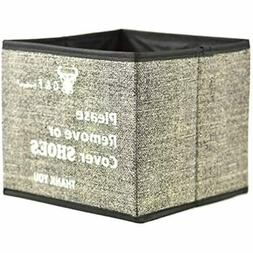 Shoe Covers Box, Foldable Collapsible Holder Bootie Holds Up