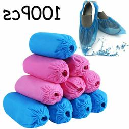 Shoe Covers Disposable Anti Skid Durable Non Woven Fabric No