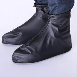 Shoes Cover Waterproof Flats Ankle Boots Men Womens PVC Reus
