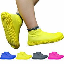 HQ Silicone Waterproof Shoe Covers Outdoor Rainproof Hiking