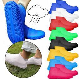Reuseable Silicone Overshoes Rain Waterproof Shoe Covers Boo