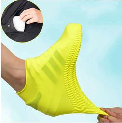 Silicone Overshoes Rain Waterproof Shoe Covers Protector Reu