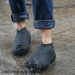 Silicone Overshoes Waterproof Shoe Covers Non-slip Rain Boot