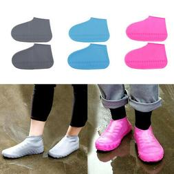 Silicone Water Resistant Shoe Covers Reusable Sole Overshoes