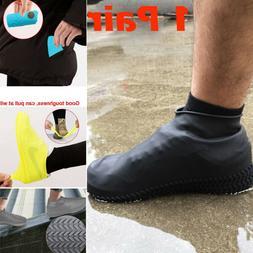 Silicone Waterproof Shoe Cover Outdoor Rainproof Hiking Skid