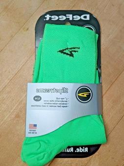 "Defeet SLIPSTREAM 4"" Double Layer Cuff Socks, Small/Medium,"