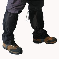 Snowproof Waterproof Leg Gaiters Nylon shoe boot cover zip u