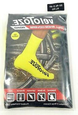 Velotoze Tall Bike Shoe Covers Day Glo Yellow, XL, 46.5-49