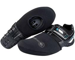 Thermal Neoprene Cycling Shoe Toe Cover with Opening for Bik