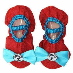 Thing 1 & 2 from Cat in the Hat Kids Costume Shoe Covers Red