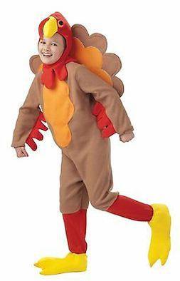 turkey unisex novelty fleece child costume w