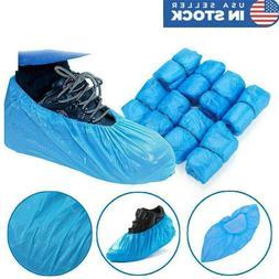 400pcs disposable shoe boots covers plastic waterproof
