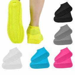 US Waterproof Shoe Covers Shoes Protector Rain Cover Kids Wo